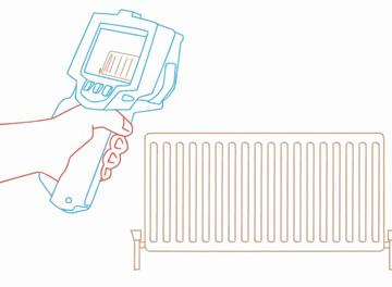 تشخیص ترکیدگی لوله با دستگاه حرارت سنج دقت کار را بالا می برد